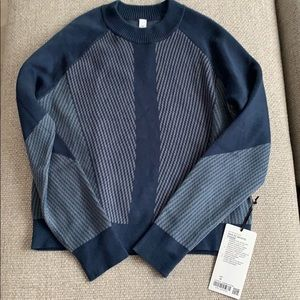 Lululemon NWT Here for Serenity Sweater, Size M